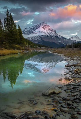 Poster featuring the photograph Ice Fields Parkway / Alberta, Canada  by Nicholas Parker
