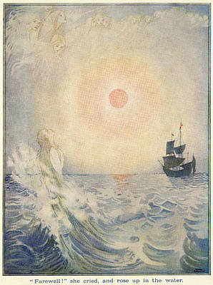 The Little Mermaid, Illustration From  Poster