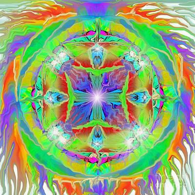 Indian Mandala Poster