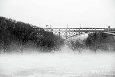 Poster featuring the photograph Inwood Hill With Fog by Cole Thompson
