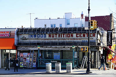 Poster featuring the photograph Inwood Nutrition Center by Cole Thompson