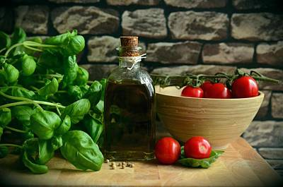 Italian Ingredients Poster