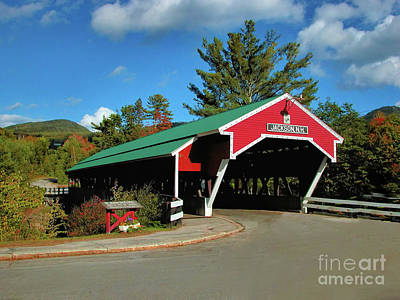 Poster featuring the photograph Jackson Covered Bridge by Debbie Stahre