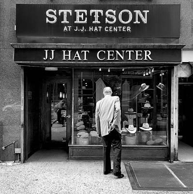 Jj Hat Center Poster