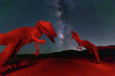 Poster featuring the photograph Jurassic by Tassanee Angiolillo