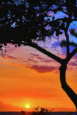 Just Another Kona Sunset Poster