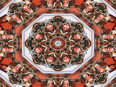Kaleidoscope Of Apple Still Life Poster