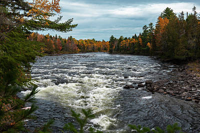 Poster featuring the photograph Kennebec River by Rick Hartigan