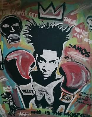 King Basquiat Poster