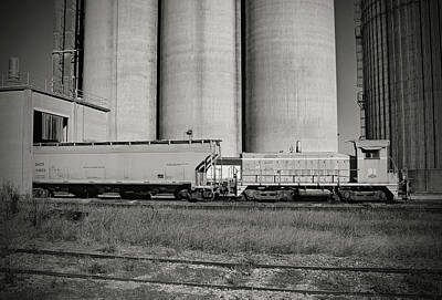 Poster featuring the photograph L C Sw900 91 B W 55 A by Joseph C Hinson Photography