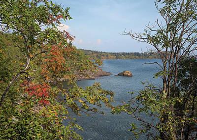 Lake Superior Autumn Poster