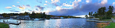 Poster featuring the photograph Lake Winnipesaukee From Alton Bay, Nh by Joann Vitali