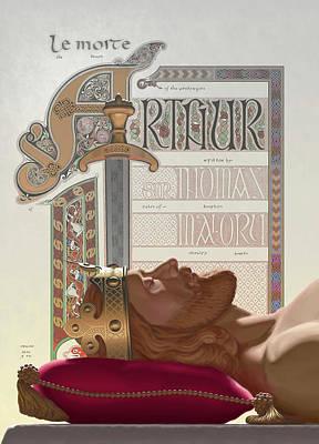 Le Morte D'arthur Poster