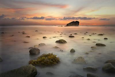Malibu Sunset Poster