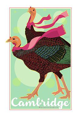 Les Foulards De Cambridge Poster