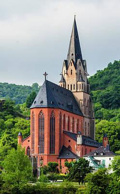 Liebfrauenkirche Oberwesel Poster