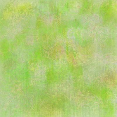 Lime Batik Print Poster