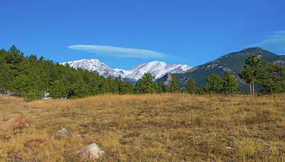 Longs Peak From Upper Beaver Meadows Poster