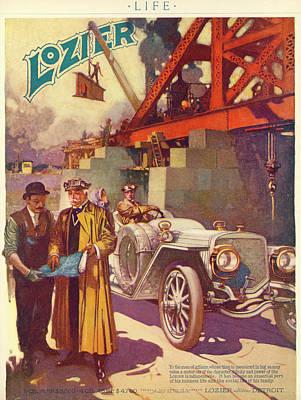 Lozier Advertisement Poster