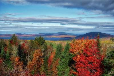 Maine Fall Foliage Poster