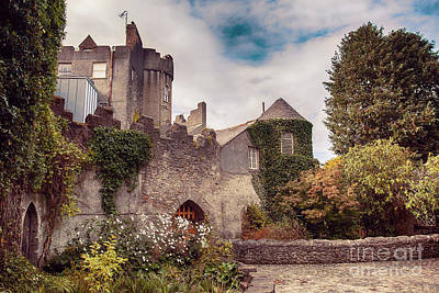 Poster featuring the photograph Malahide Castle By Autumn  by Ariadna De Raadt