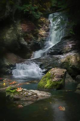 Maple Leaf Falls Poster