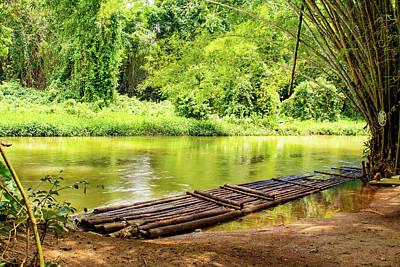 Martha Brae River Bamboo Rafting Poster