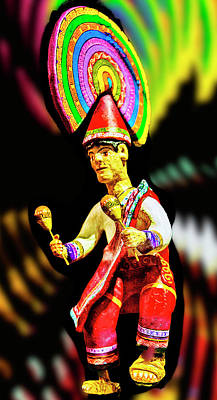 Mayan Dancer Poster