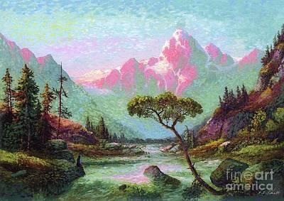 Serenity Meditation Poster