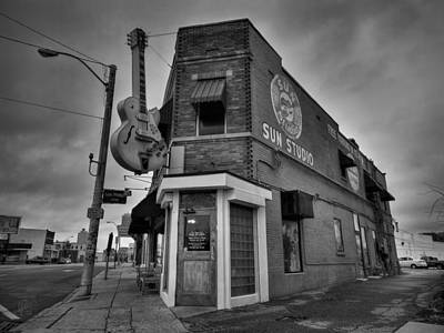Memphis - Sun Studio 004 Bw Poster