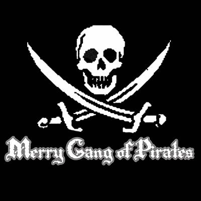 Merry Gang Of Pirates Poster