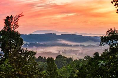 Poster featuring the photograph Deer Valley Sunrise by Meta Gatschenberger