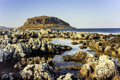 Monemvasia Rock Poster