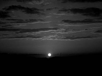 Poster featuring the photograph Monochrome Sunrise by Bee-Bee Deigner