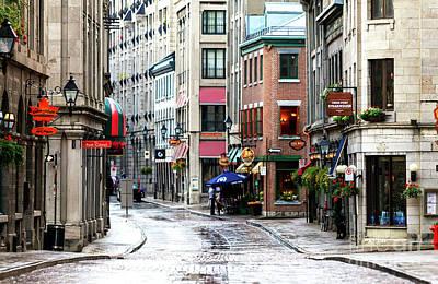 Montreal Street Scene 2010 Poster