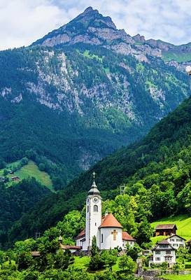 Mountainside Church Poster
