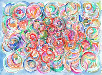 Multicolor Bubbles Poster