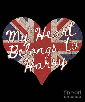 My Heart Belongs To Prince Harry Poster