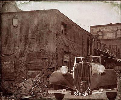 New 1936 Citroen Old Neighborhood Poster
