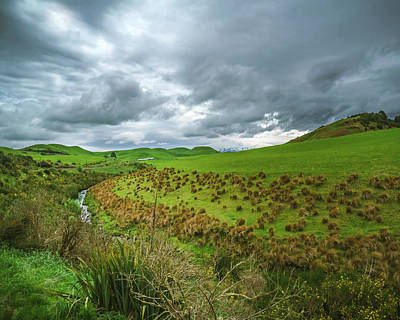 Nz Countryside Poster