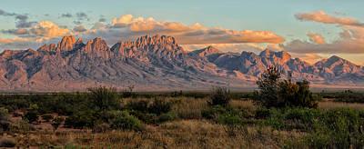 Organ Mountains, Las Cruces, New Mexico Poster