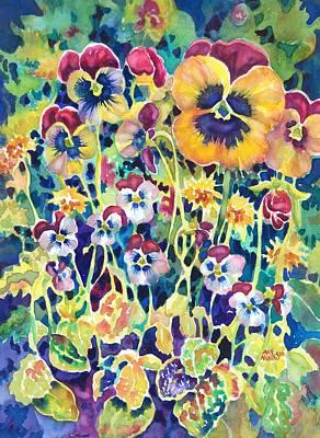 Pansies And Violas Poster