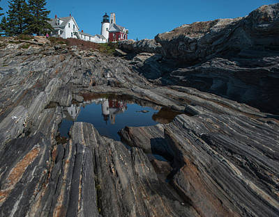 Poster featuring the photograph Pemaquid Lighthouse by Rick Hartigan