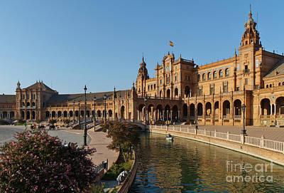 Plaza De Espana Bridge View Poster
