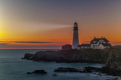 Poster featuring the photograph Portland Headlight by Rick Hartigan