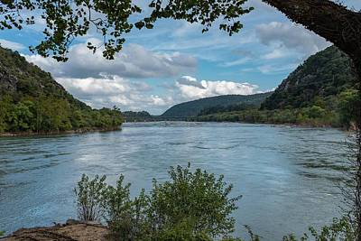 Potomac River At Harper's Ferry Poster