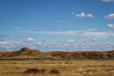 Poster featuring the photograph Prairie Solitude by Scott Bean
