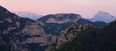 Poster featuring the photograph Pre Pyrenees Sunset by Stephen Taylor