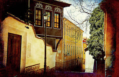 Poster featuring the photograph Quiet Street by Milena Ilieva
