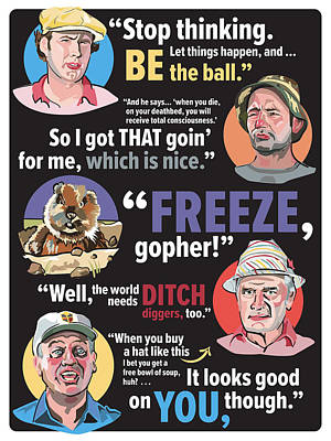 Quotable Caddyshack Poster